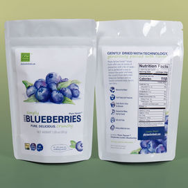 Convenient blueberry snack packs